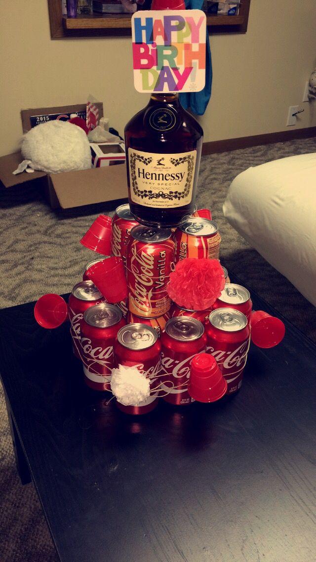 Boyfriends Gift Coke And Hennessy Boyfriend Gifts