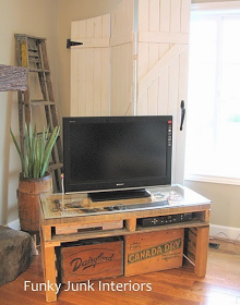 TESORO FINO * FINE TREASURES BLAH BLAH BLOG: DIY Repurposed Wooden Palette Skids for Home Decor