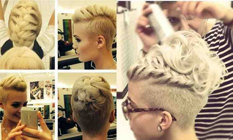 Pin By Jewel Liana On Undercut Designs Undercut Hairstyles Short Bridal Hair Hair Styles