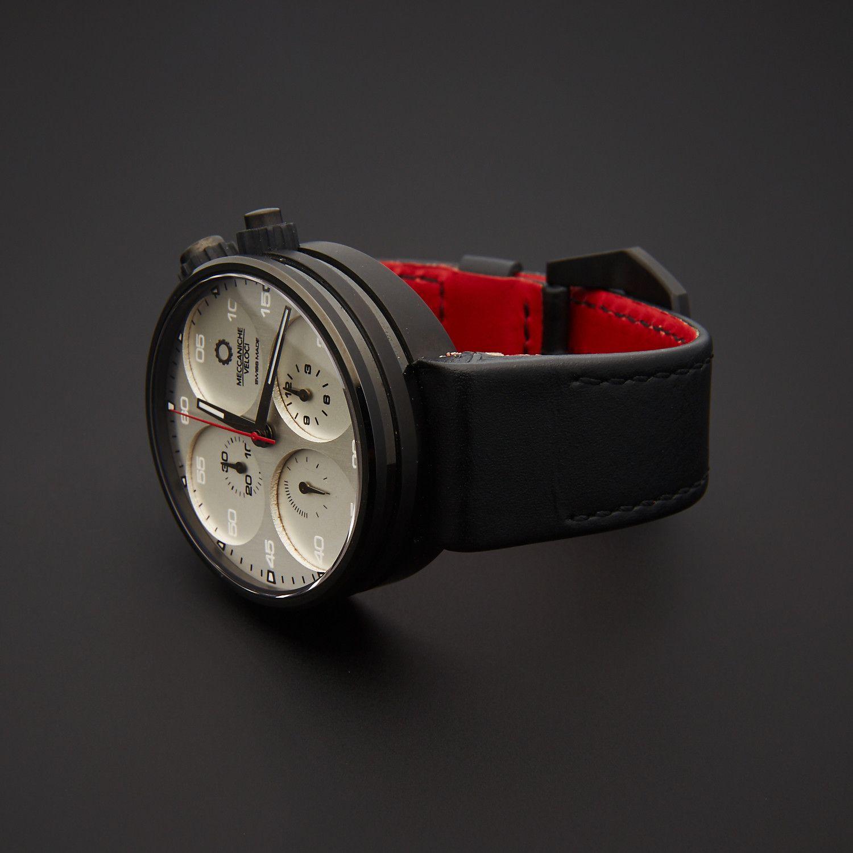 Meccaniche Veloci Chronograph Automatic W123k085419017 Store Display Automotive Chronograph Leather Watch