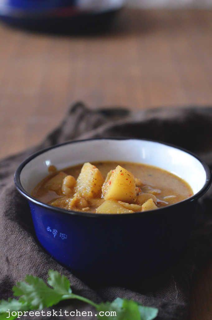 Soya Beans Lima Beans Curry Butter Beans Kuzhambu