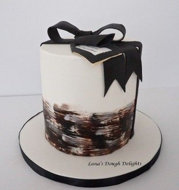 Elegant Men Birthday Cake Lanas Dough Delights Specializing In Custom Cakes Cupcakes And Cookies