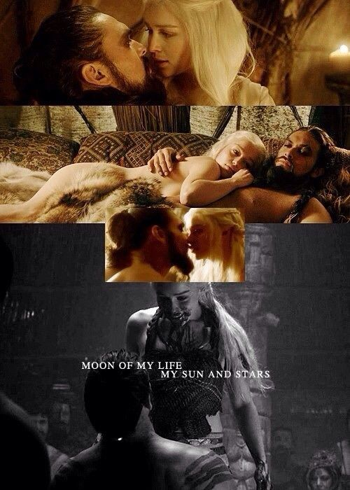 Daenerys and Khal Drogo...a love story by Daenerys | We Heart It