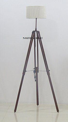 Nautical Marine Antique Tripod Search Light Floor Lamp Wi Https Www Dp B01n3z80ed Ref Cm Sw R Pi Dp X Tripod Lamp Target Floor Lamps Floor Lamp