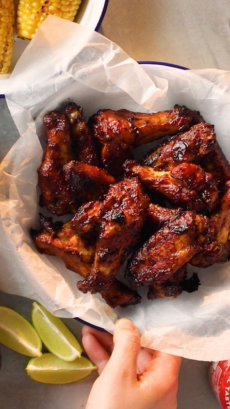Rum and Coke Chicken Wings ~ Recipe