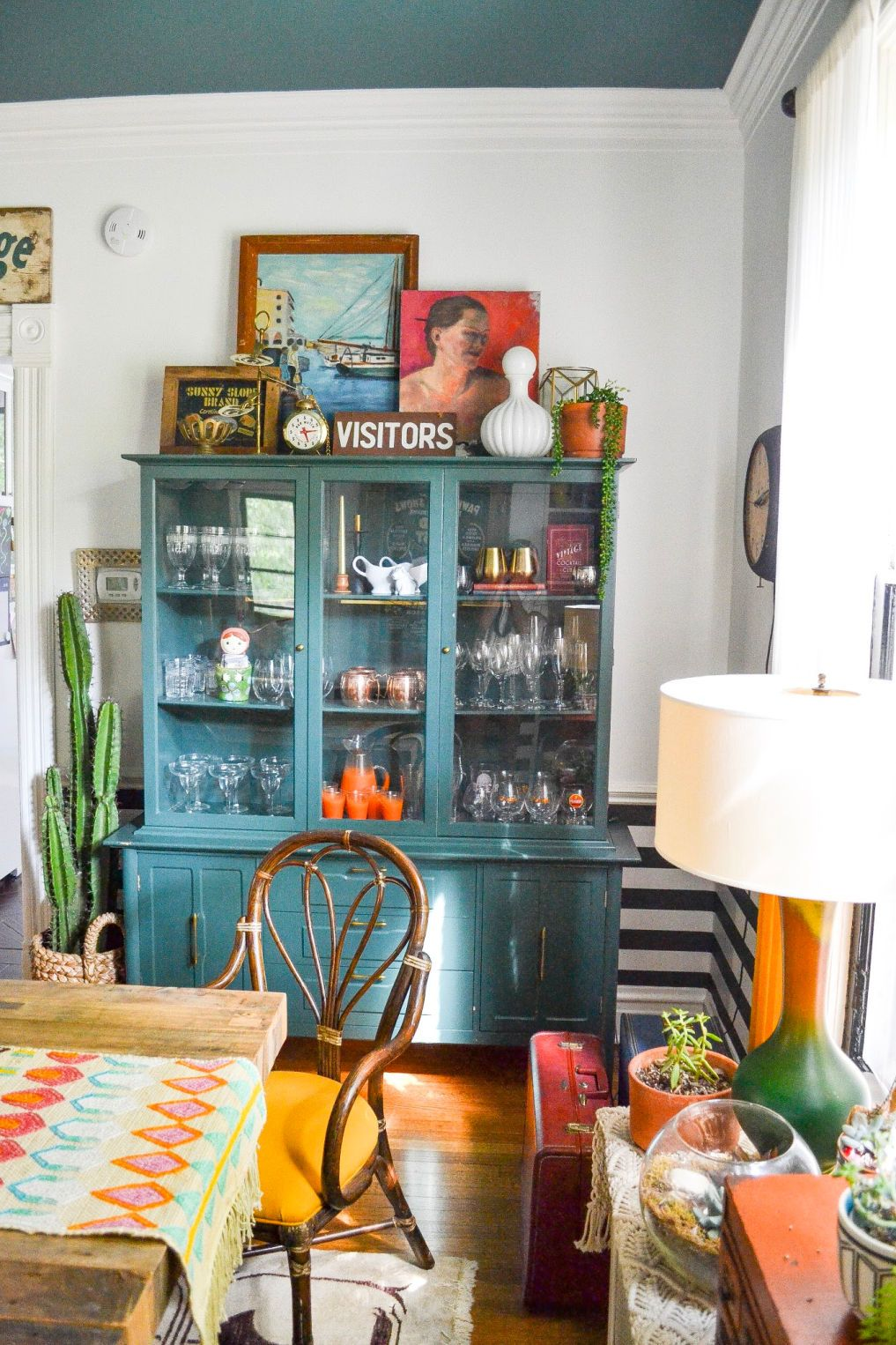 Eclectic Home Tour - Home Ec