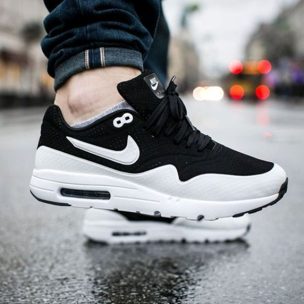 buy popular 2aaa0 8b6fa Nike Air Max 1 Ultra Moire Black White Panda REFLECTIVE  705297-011  all  sizes  Nike  AthleticSneakers