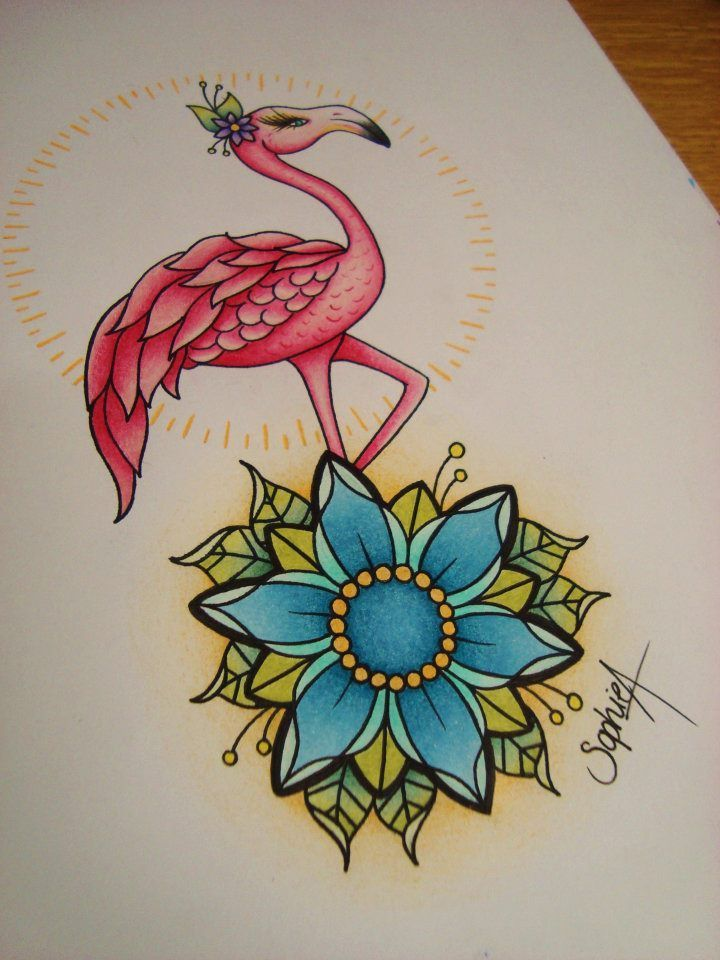 OK, the flamingos leg isn\'t even bending the correct way! Whatever ...