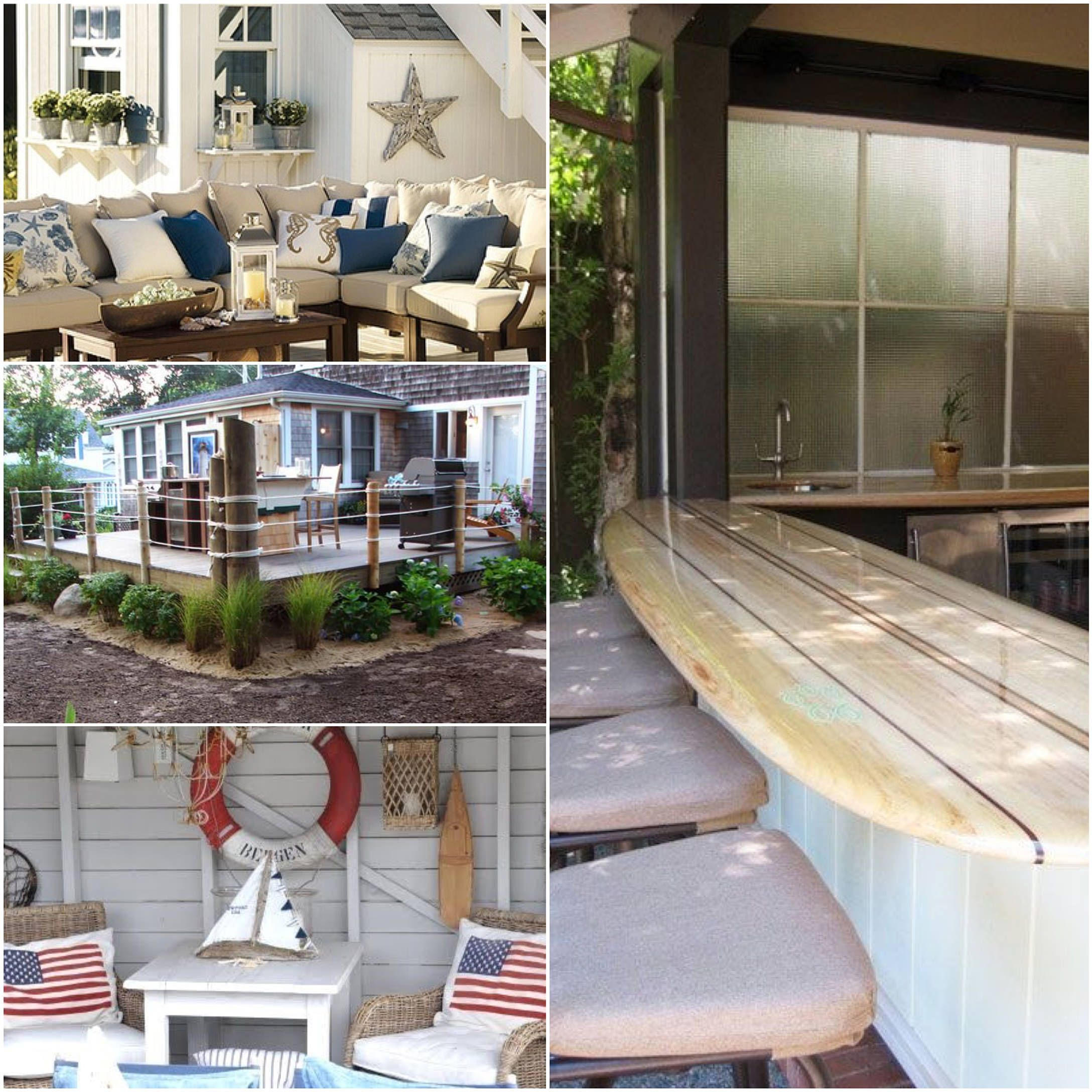 N is for Nautical | A to Z Guide To Outdoor Decor ... on Nautical Patio Ideas id=43081