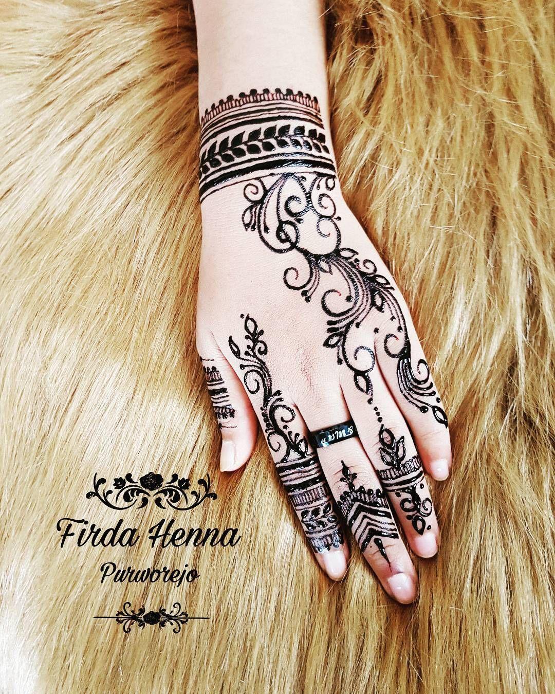 Simple firdahennapurworejo hennaclubpurworejo henna