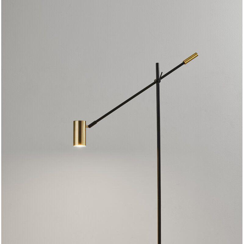Castaneda 63 Led Task Floor Lamp Reviews Allmodern In 2020 Energy Efficient Light Bulbs Led Floor Lamp Floor Lamp Shades