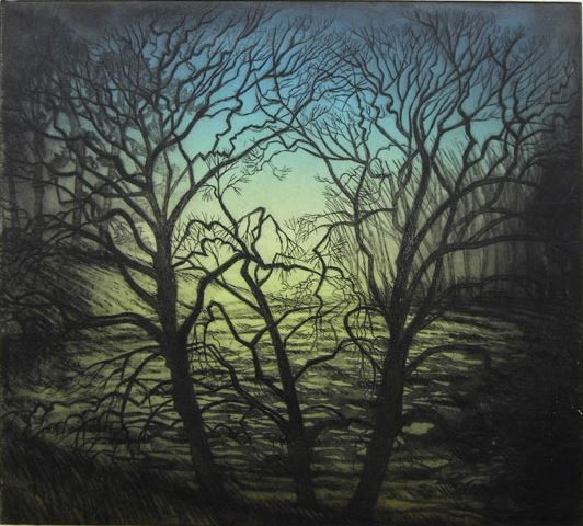 Morna Rhys - printmaker at Obsidian Arthttp://www.shop.obsidianart.co.uk/collections/printmaking/products/gathering-dusk-morna-rhys