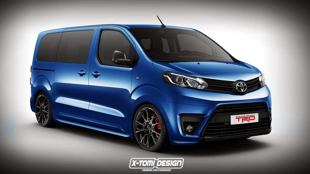 Peugeot Traveller Citroen Spacetourer Toyota Proace Rendered As