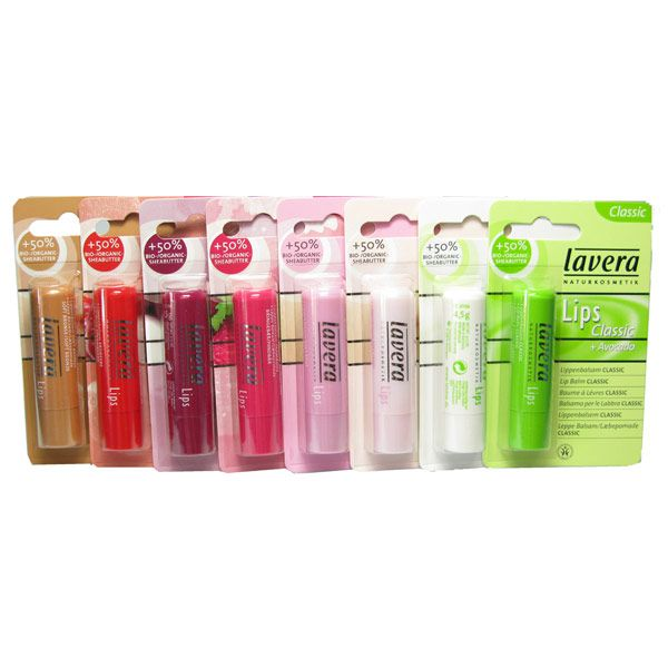 Achieve Kissable Soft Smooth Lips With Lavera Natural Organic Lip