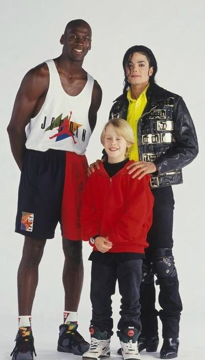 23b8151c3a6357 Michael Jordan x Macaulay Culkin x Michael Jackson....I think Jackson was a  combo of the other two