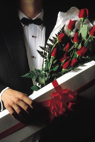 How lovely - red roses always