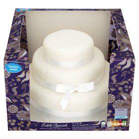Asda Extra Special  Tier Occasion Fruit Cake