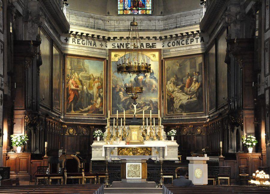 Le chœur de Notre-Dame-des-Victoires