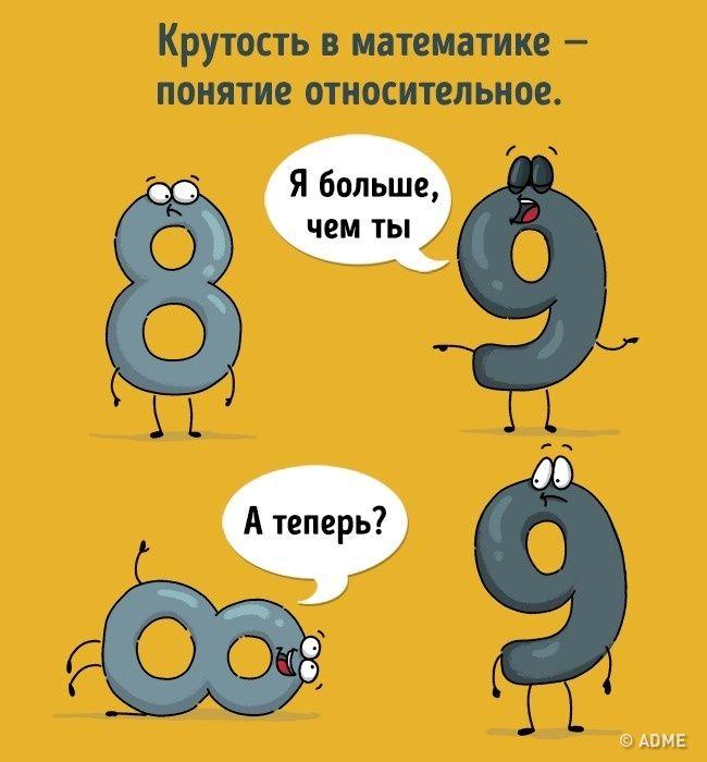 Картинки о математике прикольные