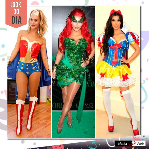 Look do carnaval: aqui vão algumas fantasias das celebridades para você se inspirar e cair na folia! *-* \o/ #modanaweb #lookcarnaval #carnaval2015