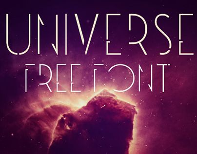 Universe Is A Free Font Ideas Pinterest Fonts Free Fonts