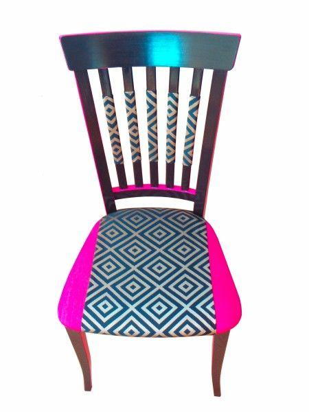 Chaise metisse de face détouree