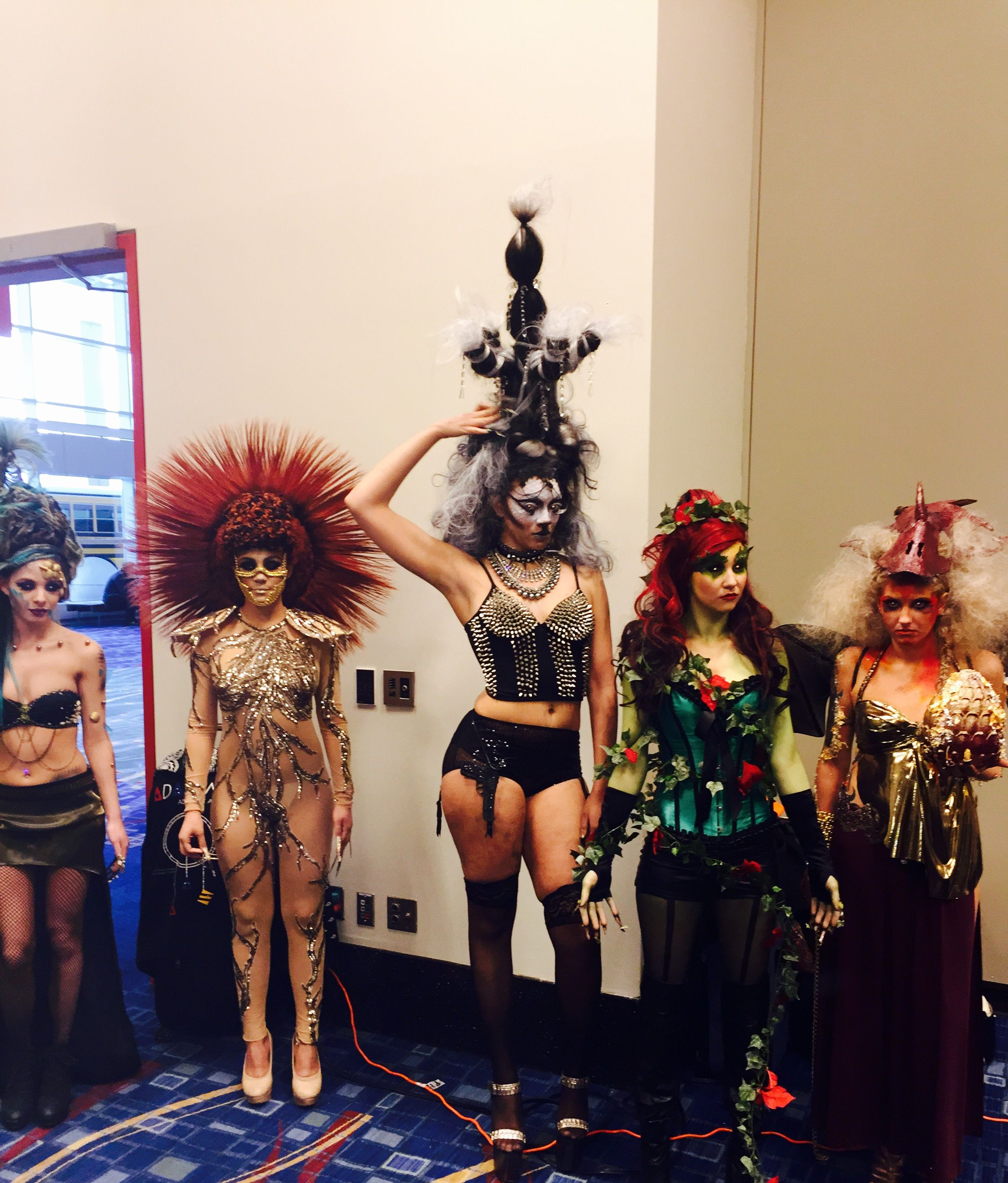 Tricoci University Bridgeview students entry at America's Beauty Show competition. #ABS2015