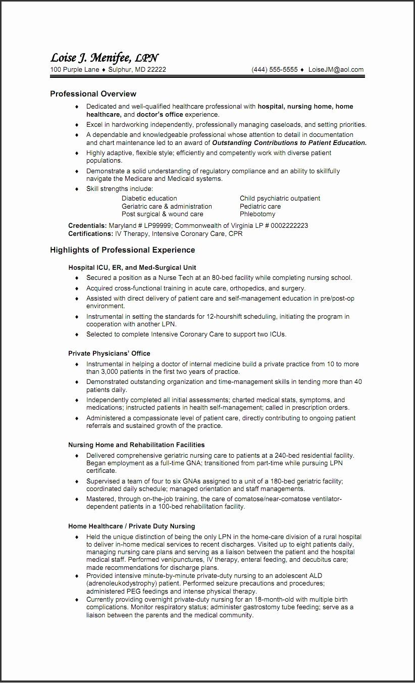 39+ Lpn to rn resume objective Resume Examples