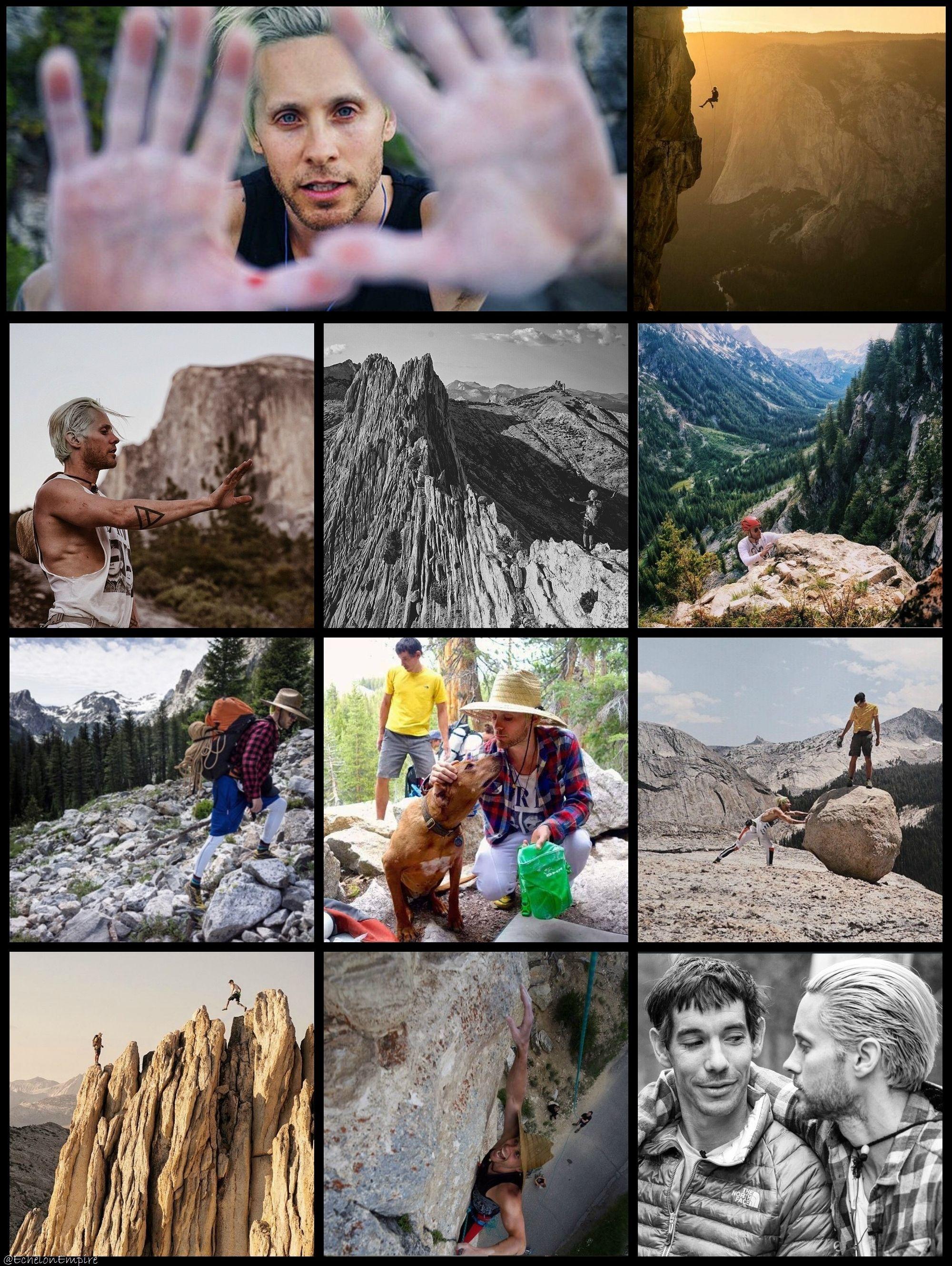 #MARScollage | #Jared Leto adventures in #GreatWideOpen #30secondstomars
