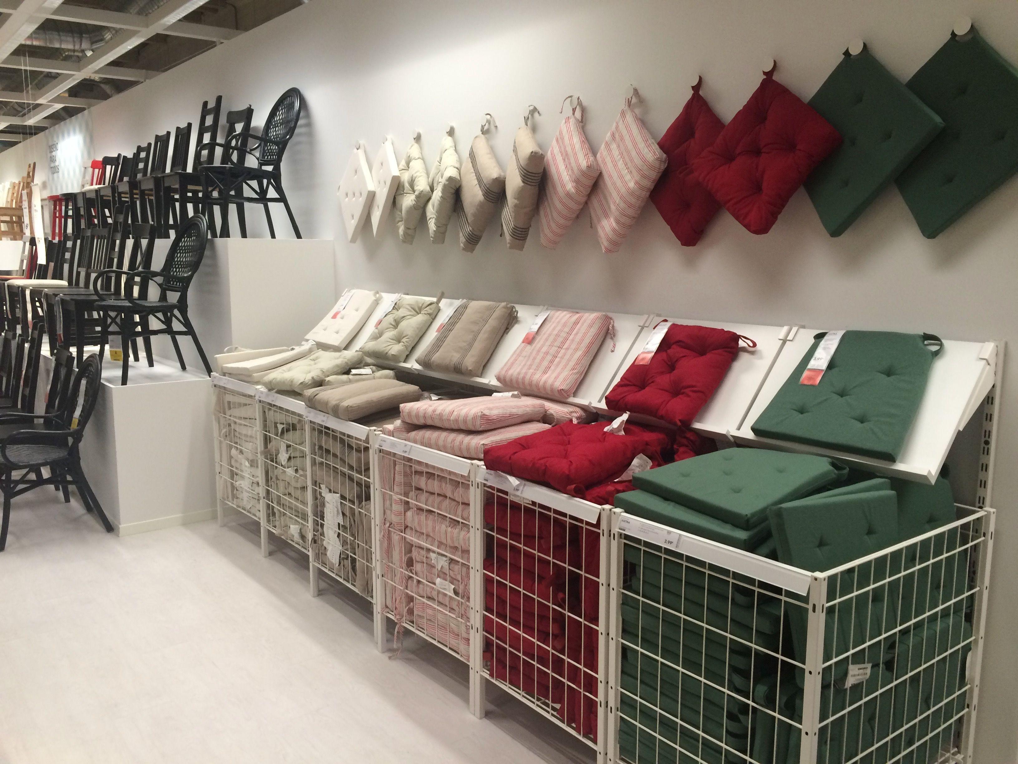 IKEA Alcorcon Madrid simple chair pad display