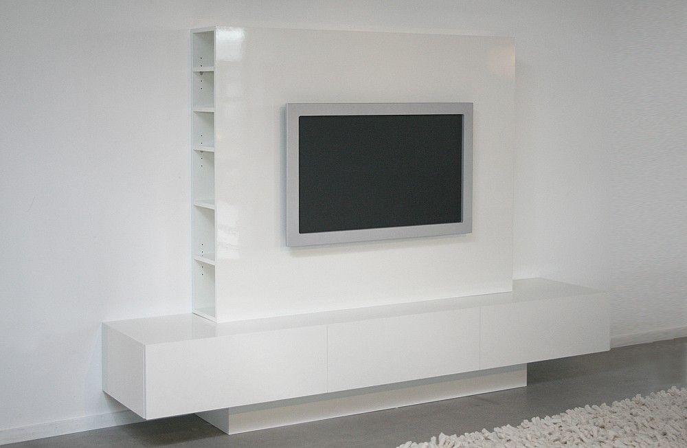 Tv Kast Wit : Tv meubel acacia hout tv kast wit te koop dehands be