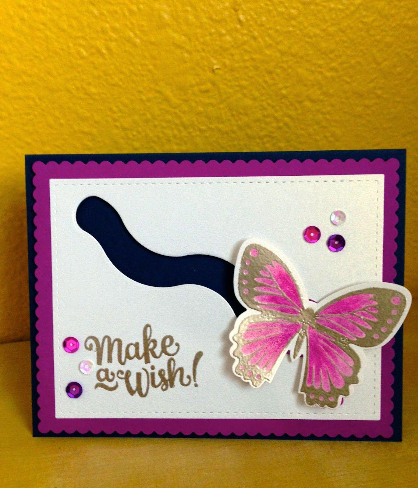 Butterfly Spinner Card My Cards Pinterest Spinner Card