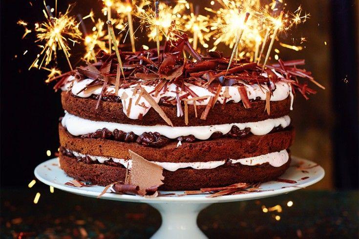 feest taart Jamie Oliver's ultieme chocolade feesttaart   Culy.nl   Project  feest taart