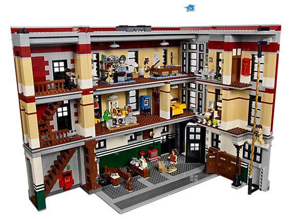 Firehouse Headquarters | LEGO Shop