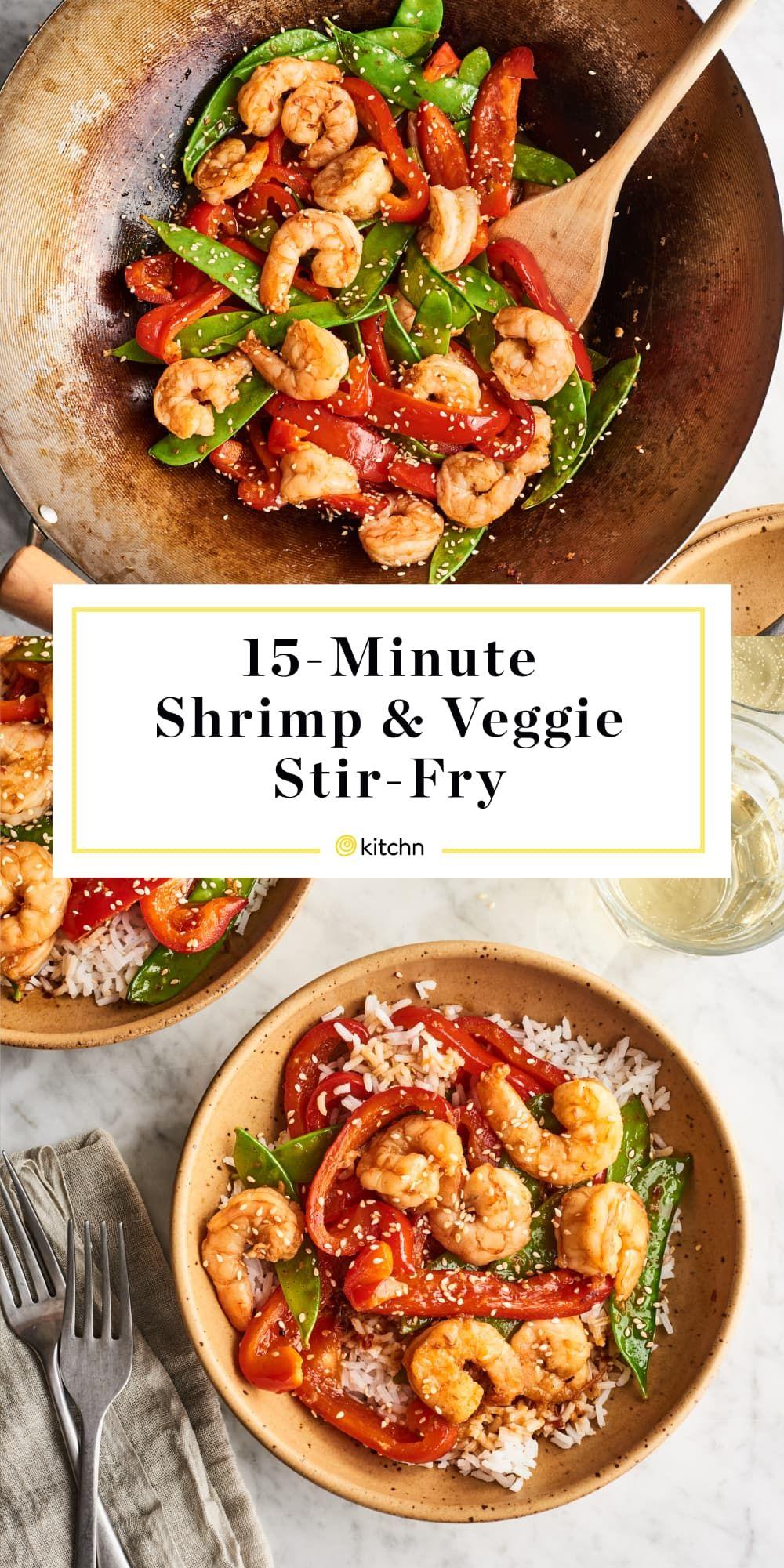 15-Minute Shrimp & Veggie Stir-Fry