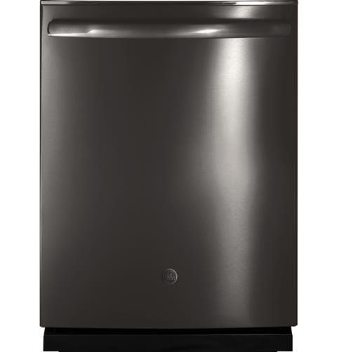 Ge Dishwasher Black Stainless Steel With A Stainless Steel Interior In 2020 Black Stainless Steel Stainless Steel Dishwasher Black Dishwasher