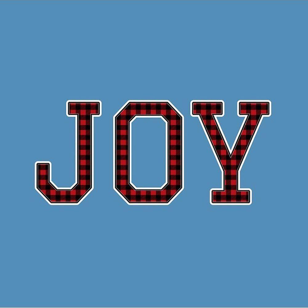 Happy SundayAre you spreading some JOY today?  . . . . . #redbubble #findyourthi... #buffaloplaid #christmasjoy #christmaspillows #christmasstickers #christmastees #findyourthing #joyfuljoyfulweadorethee