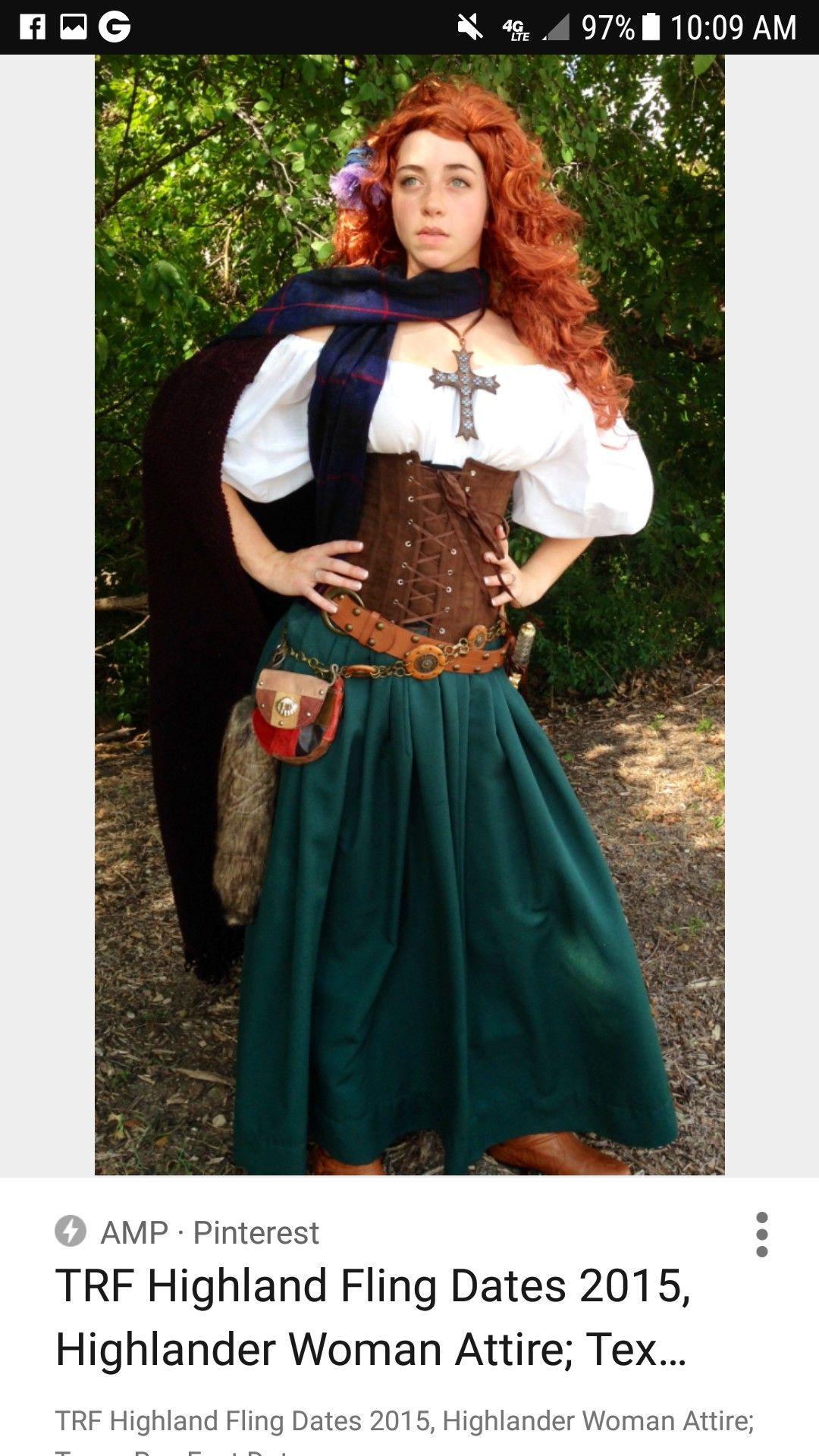 Highland costume dress highland fling pinterest highlands and