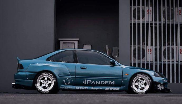 Honda Civic Coupe Ej7 Pandem Owner Mos Coupepandem Honda Civic Coupe Jdm Honda Civic Coupe