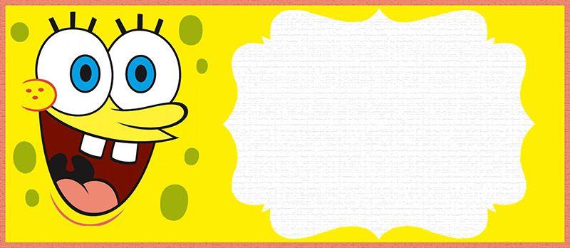 Spongebob Party Invitation Card Spongebob Party Spongebob Birthday Spongebob Birthday Party
