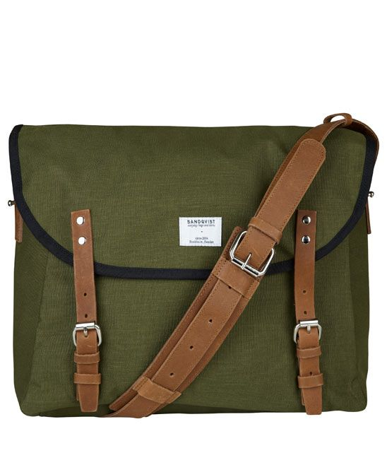 Sandqvist Green Erik Messenger Bag