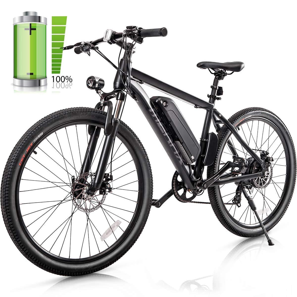 Merax 26 Electric Mountain Bicycle 350w Electric Bike With 36v 8 8ah Removable Lithium Ion Battery Electric Mountain Bike Electric Bicycle Electric Bike