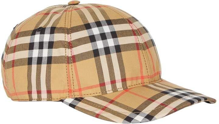 b5b46986a3e Burberry Vintage Check Cap