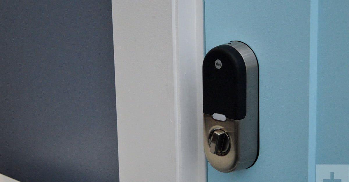 Yale Smart Locks Integrate With Alexa For Easier Door Unlocking Digital Trends Smart Lock Smart Deadbolt Door Handles