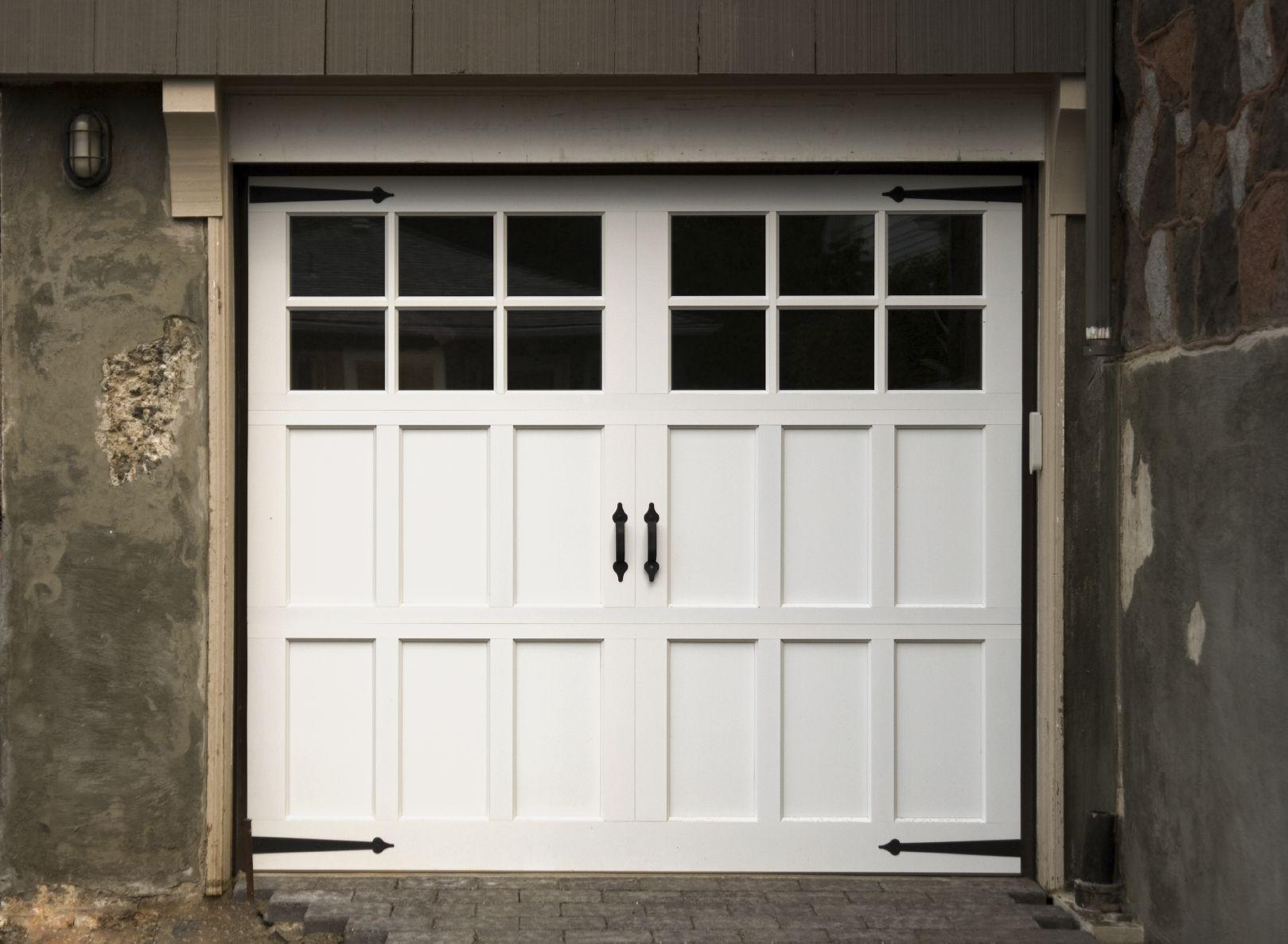 White Garage Doors 2 White Pinterest