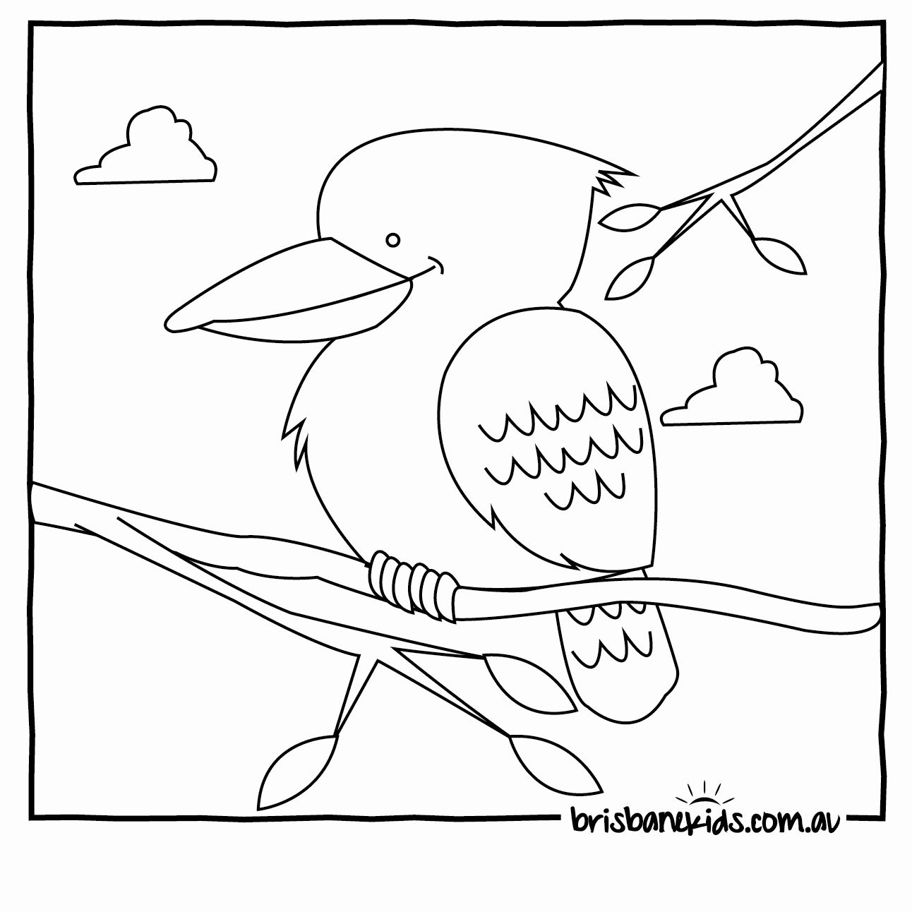 Australian Animals Coloring Pages Inspirational Australian Animals