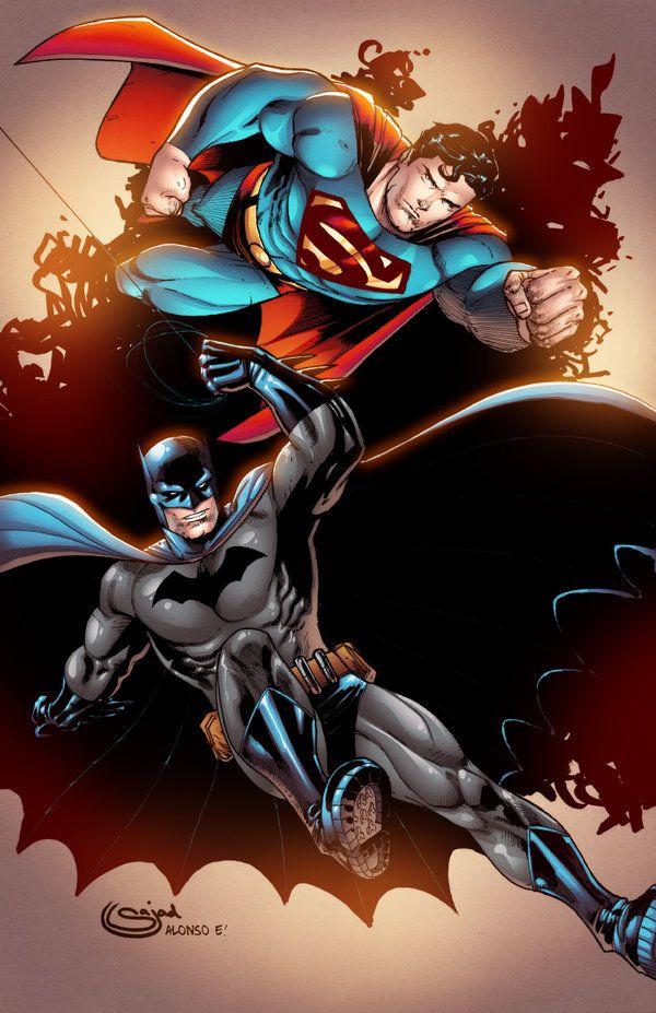 Superman Batman By Alonsoespinoza On Deviantart Batman And Superman Batman Superman