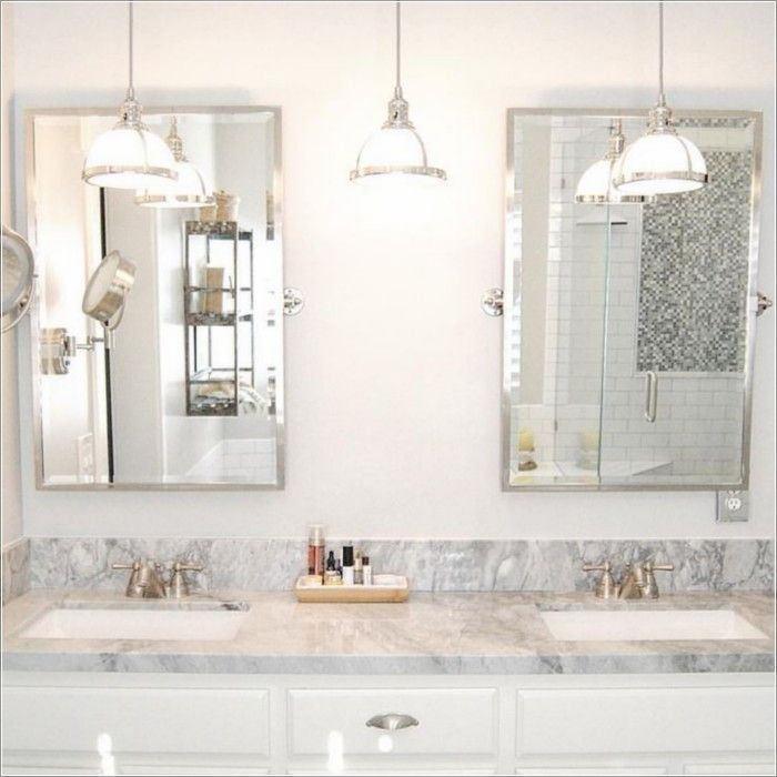 5 Tips For Lighting Your Bathroom To Create The Mood You Want Bathroom Hanging Lights Bathroom Lighting Design Bathroom Pendant