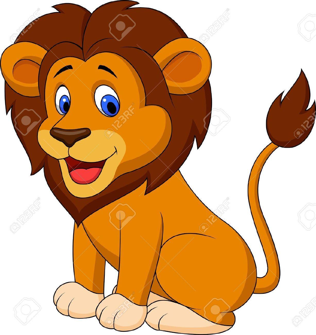 medium resolution of lion goofy clipart 1