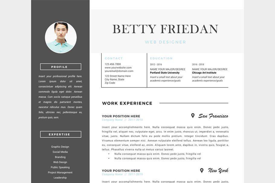 Web Designer Resume Template Cv Web Designer Resume Web Design Resume Design